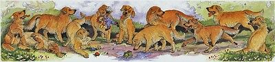 Enid Groves Golden Retriever Print