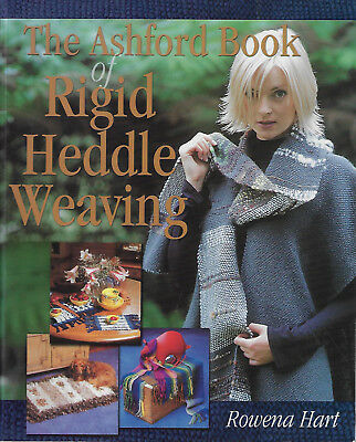 Ashford Book of Rigid Heddle Weaving - Rowena Hart like new softcover