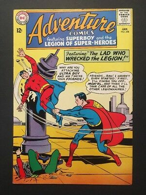 Adventure Comics #328 (Jan 1965, DC) LEGENDARY COMIC BOOK SERIES