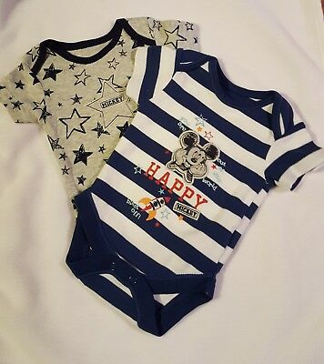Mickey Mouse Bodysuits Newborn