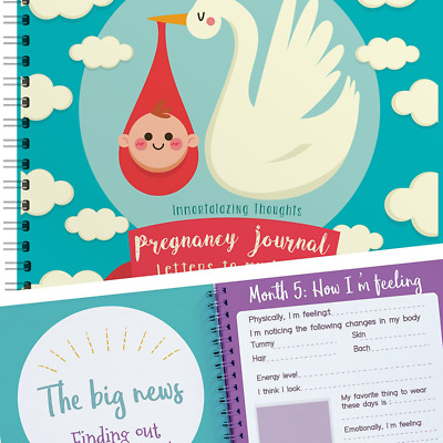 Pregnancy Journal, Perfect Maternity Gift For Expecting Mothers, Beautiful & uni