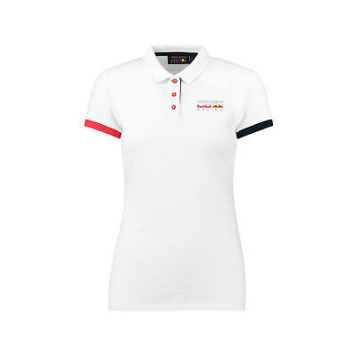 Damen Polo Shirt Classic Weiß Aston Martin Red Bull Racing F1 2018 Größe M