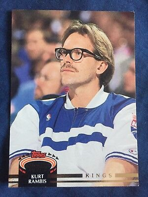 1993 Topps Stadium Club NBA Basketball Card #391 Kurt Rambis Sacramento Kings