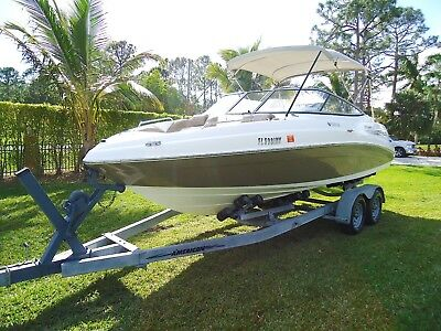 2008 YAMAHA 232 Limited w/Twin 320hp 4-Stroke Jets Great Condition LOW RESERVE