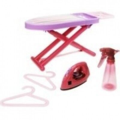 Includes: 1 Ironing Board, 1 Drying Rack, 1 Iron, 1 Spray Bottle, 2 Hangers -