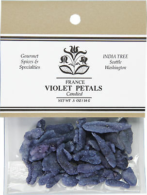 India Tree Candied Flower Petals - Violets