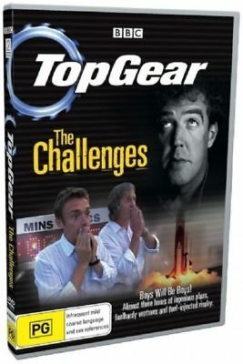Top Gear - The Challenges Used But Still Sealed Region 4 DVD Low P&H