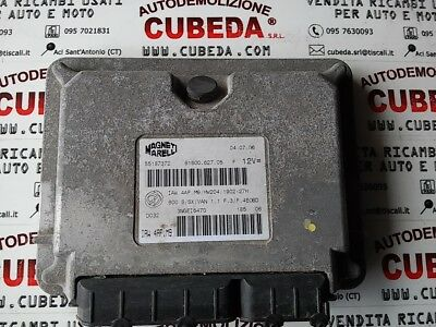 Centralina motore Fiat Seicento 1.1 - 55187372 / IAW 4AF.M9  HW204