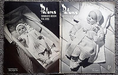 Vintage Patons  Knitting Pattern Book-225-Baby Jackets,layette,cardigans