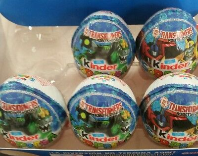 Transformers 3 eggs only  Kinder
