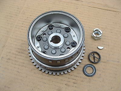 Aprilia Scarabeo 250 Ie Rotor + Starter Clutch Good Condition