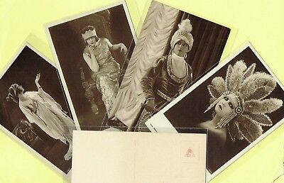 ROSS VERLAG - 1920s Film Star Postcards produced in Germany #571 to #614