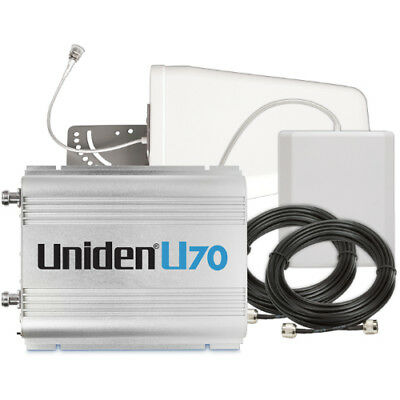 Uniden U70 Cellular Booster Kit with Outdoor Yagi 9 - Indoor Panel - 50ft U5D -