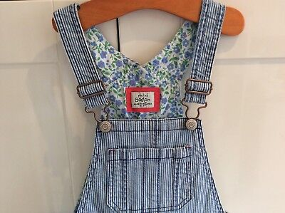 Girls Mini Boden short dungarees Size 5 - 6 years Great clean used condition