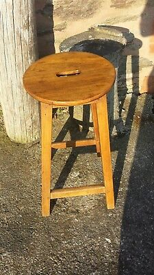 victorian elm country stool