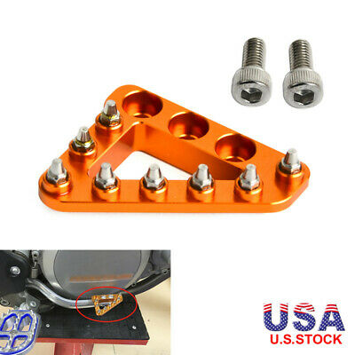 Step Plate Brake Pedal Tip Pad Foot Peg for KTM Supermoto Enduro Adventure