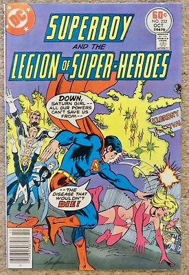 1977 DC Superboy and the Legion of Superheroes #232. Free postage