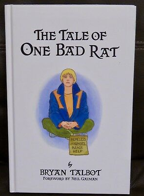 Bryan Talbot - The Tale of One Bad Rat (Hardback) 9780224084703 - New