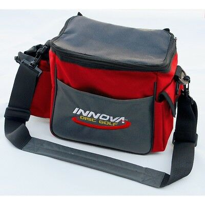 (Red/Gray) - Innova Champion Discs Standard Disc Golf Bag. Free Delivery