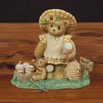 Cherished Teddies retired NIB. Lydia You're the Bees Knees beehive apiary 661929