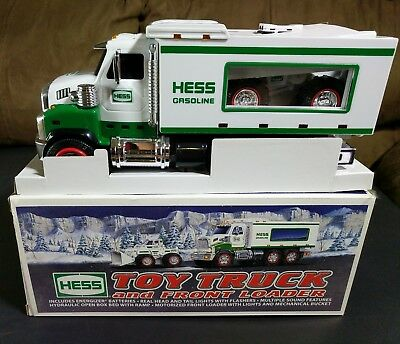 Hess 2008 Toy Truck and Front Loader - New in Box
