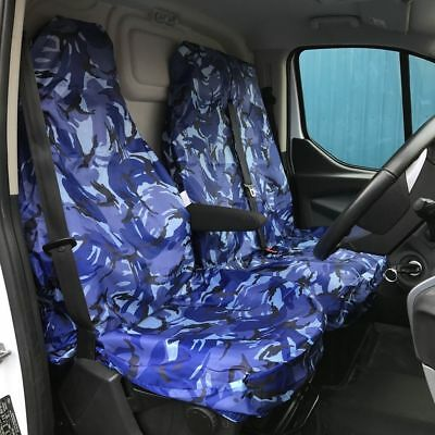 2012 CITROEN RELAY 35 L3H2 HDI 2-1 HEAVY DUTY BLUE PANEL VAN SEAT COVERS