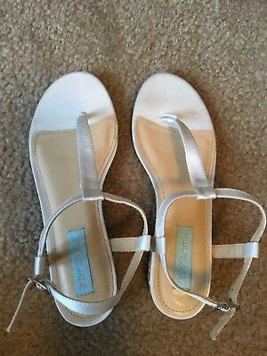 Blue by Betsey Johnson wedding sandals. Size 7.5M Women's