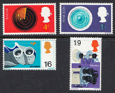 SG752-755 1967 DISCOVERIES Unmounted Mint