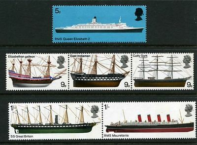 SG778-783 1969 SHIPS Unmounted Mint GB