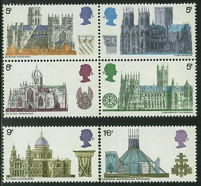 SG796-801 1969 CATHEDRALS Unmounted Mint GB