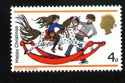 SG775Ey 1968 4d XMAS PHOSPHOR OMITTED Unmounted Mint GB Cat £5