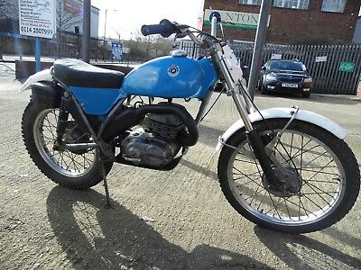 Bultaco 250 Sherpa,1974,road Registered,great Runner.