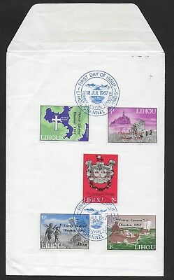 1967 Lihou Channel Islands Guernsey Cover