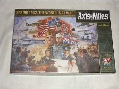 AXIS & ALLIES Spring 1942 World at War Unplayed & Unpunched  100% COMPLETE