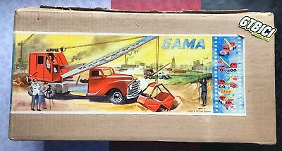 Gama Crane Truck 285/1Ea Made In Western Germany - Original Años 50