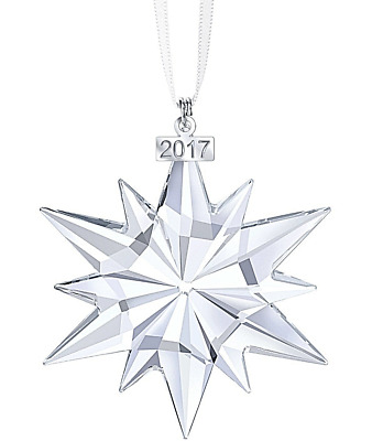 New 2017 Large Swarovski Annual Edition Christmas Ornament