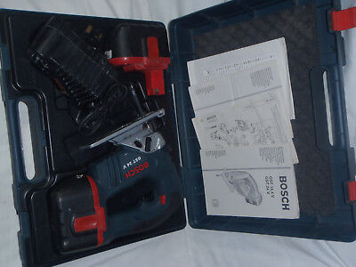 Bosch GST 24 V Jigsaw with 2 x 2.6ah Batteries and Charger AL 60 DV 2425