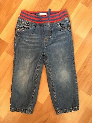 Mini Boden lined jeans size 2-3y very good used condition