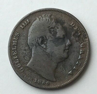 Dated : 1834 - One Farthing - Coin - King William IIII - Great Britain