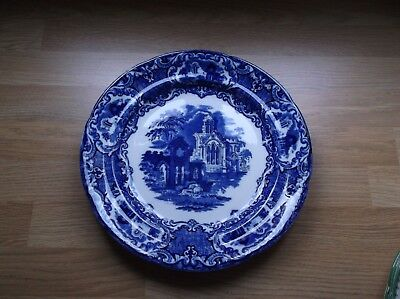 "Vintage George Jones & Sons  "" Abbey 1790 "" Dinner Plate 10"""