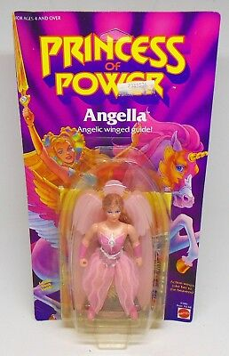 Vintage 1984 Mattel Princess Of Power Angella Angelic Winged Guide Doll Sealed