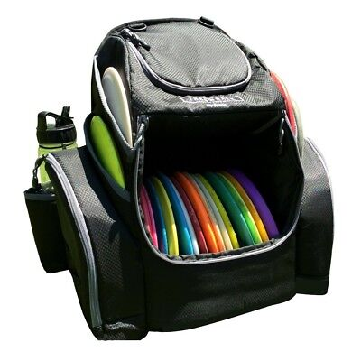 The Throwback Pack 2.0 - Disc Golf Backpack With Dual Coolers - Holds 20 - 25