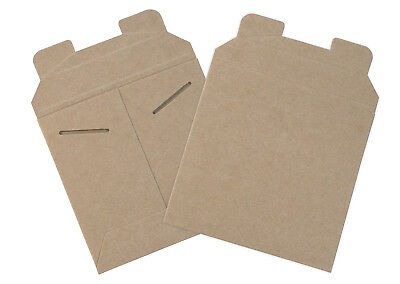 "Box Partners Flat Mailers 6"" x 6"" Kraft 200/Case RM9SFK"