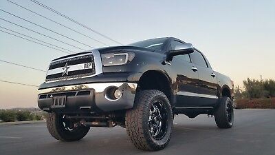 """2010 Toyota Tundra CrewMax Limited Platinum 4WD ** LIFTED 6"""" Pro-Comp Lift -- AMP Research Power Running Boards -- 20"""" wheels & more!"""