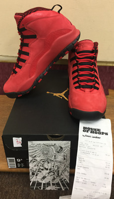 huge selection of bfd0b 6ce38 Nike Air Jordan 10 Retro STEVE WIEBE HOH AJ9100 625 Limited Size 9.5  Authentic