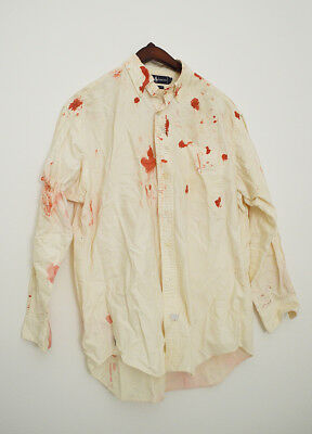 """Color of Night"" - Bruce Willis screen used shirt with bloodstains"