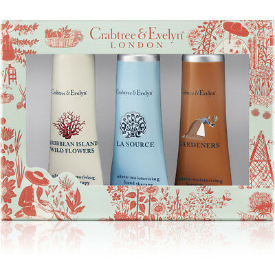 CRABTREE & EVELYN Best Sellers Hand Therapy 3x25g #5616 DAMAGED BOX