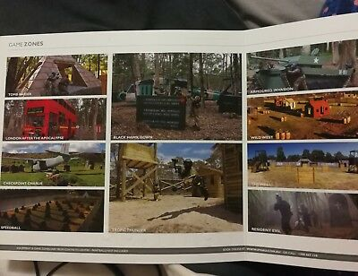 paint ball booklet of sessions