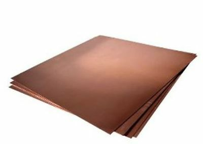 Copper Sheet Sample Pack - Free USA Shipping