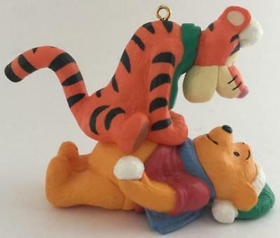 1994 Winnie the Pooh and Tigger Hallmark Ornament
